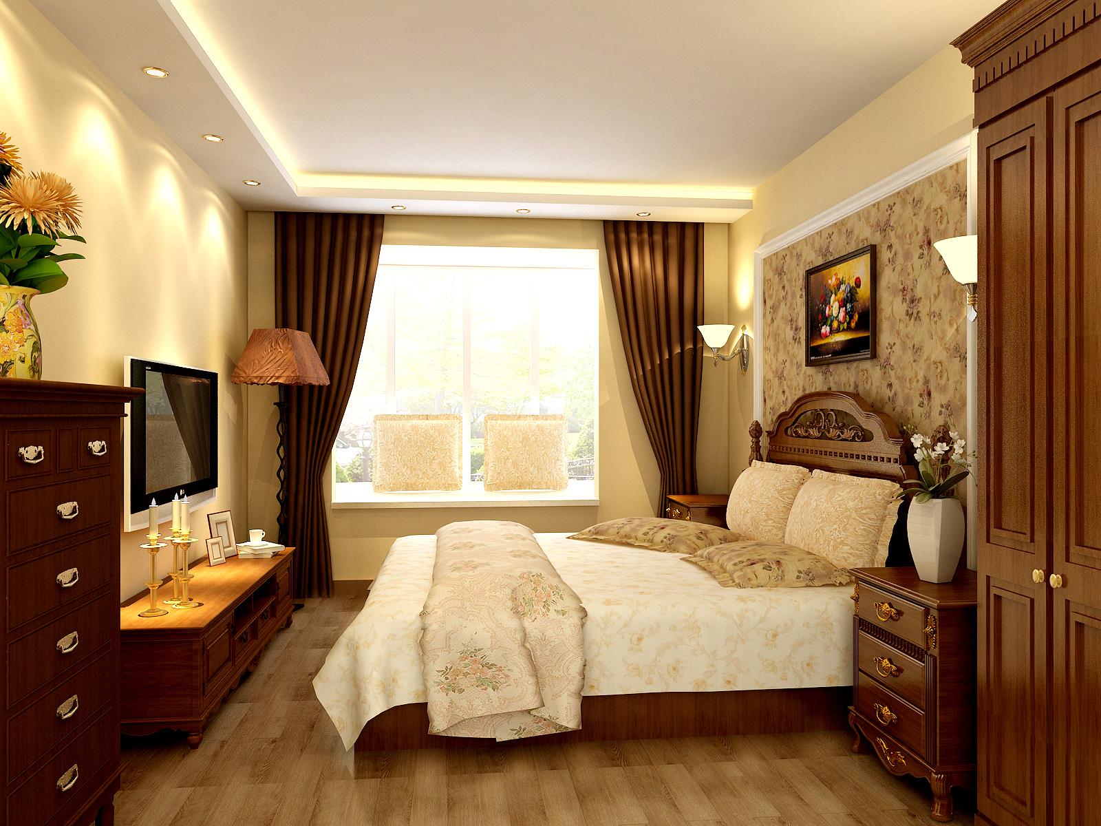 三居 欧式 简约欧式 80后 婚房 卧室图片来自实创装饰都琳在80后大爱简欧风格的分享