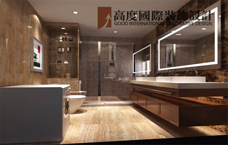 简约 装饰 设计 案例 效果图 卫生间图片来自高度老杨在鲁能七号院 135平米 简约的分享