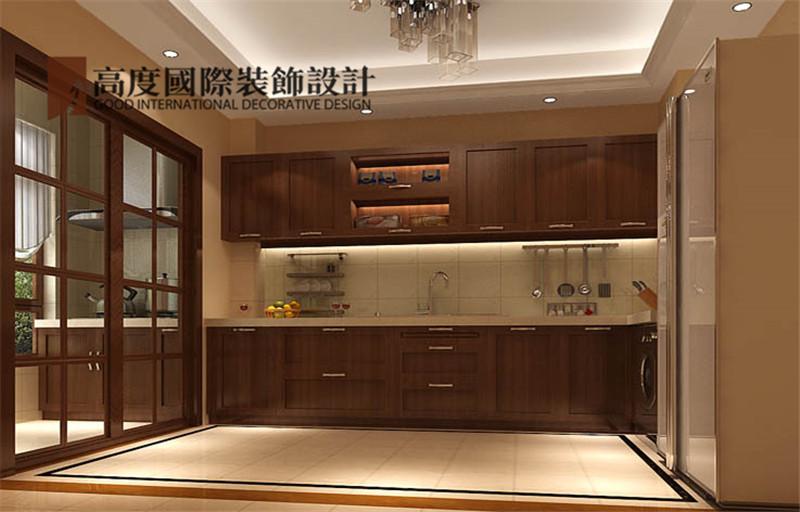 简约 装修 设计 案例 效果图 厨房图片来自高度老杨在西山壹号院 200平米 简约的分享