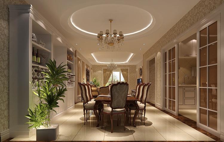 欧式 三居 80后 餐厅图片来自高度国际宋书培在龙湖香醍溪岸三居室装饰效果图的分享