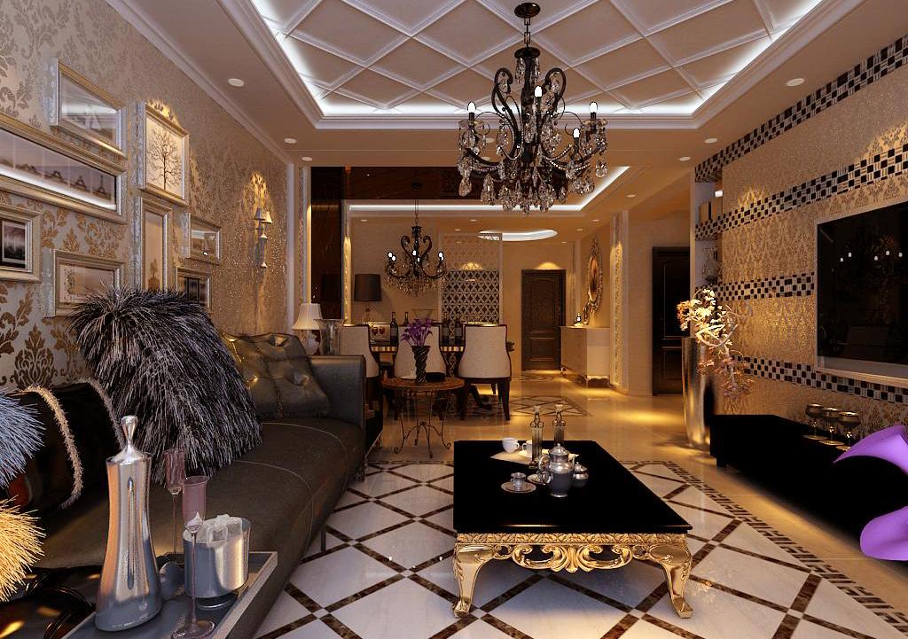 三居 客厅图片来自百家装饰小王在金地铂悦118平的分享