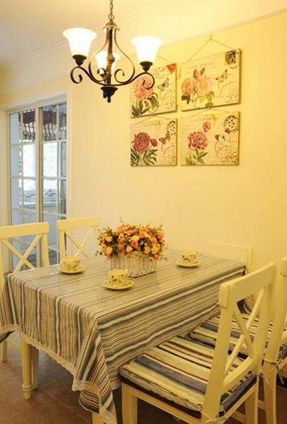 田园 二居 浪漫色彩 餐厅图片来自百合居装饰工程有限公司在浪漫田园--理工东苑的分享