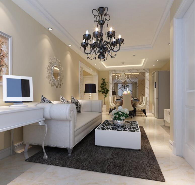 简约 欧式 三居 白领 收纳 80后 小资 客厅图片来自实创装饰百灵在实用110平米效果具佳欧式3居的分享