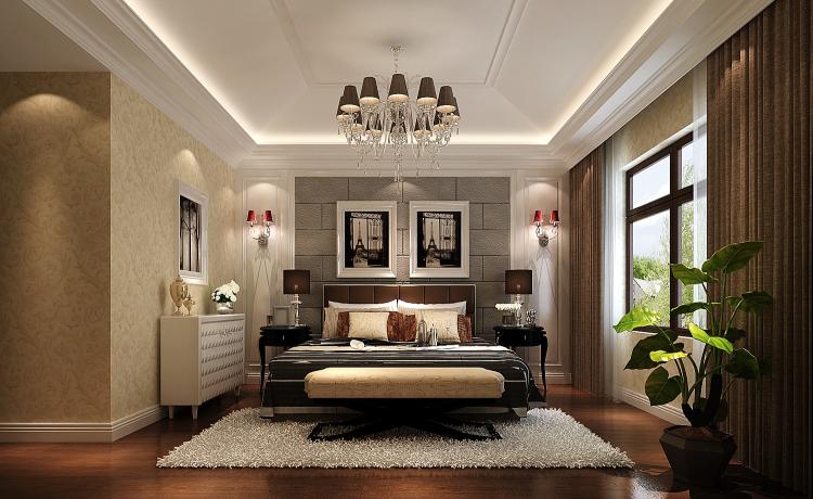 简约 小资 卧室图片来自高度国际宋书培在金色漫香苑四居室装饰效果图的分享