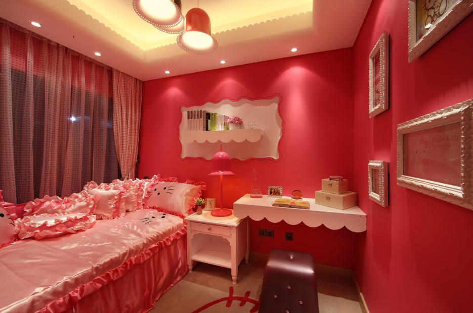 儿童房图片来自唯美装饰在广电江湾130平现代简约风格的分享