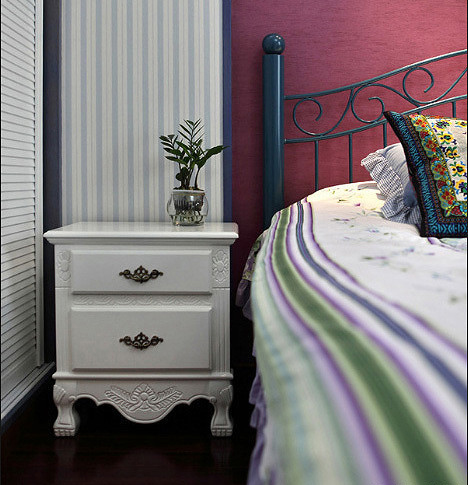 卧室图片来自家装大管家在132平地中海3居 缔造不一样生活的分享
