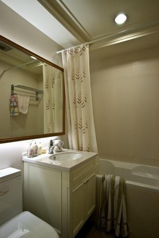 田园 二居 白领 收纳 旧房改造 80后 小资 卫生间图片来自名仕装饰-小飞在田园乡村的分享