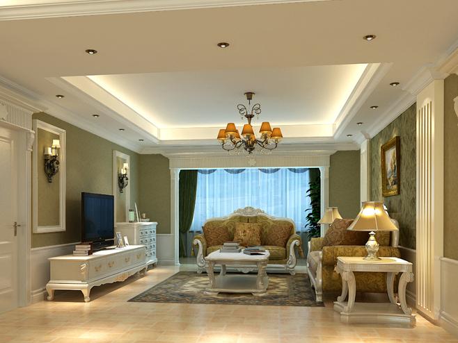 简约 客厅图片来自今朝装饰李海丹在旭辉华府案例的分享