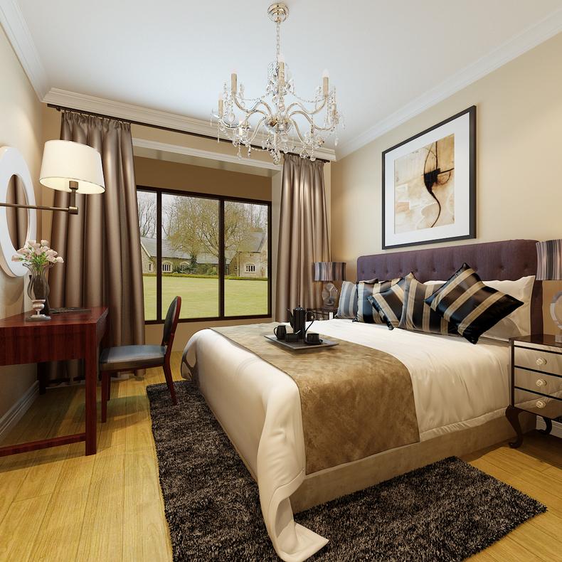 简约 混搭 卧室图片来自今朝装饰李海丹在馨瑞家园两居的分享
