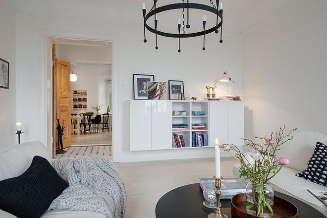 三居 北欧风 安静平和 客厅图片来自业之峰装饰旗舰店在北欧印象 安静而平和的三居家的分享