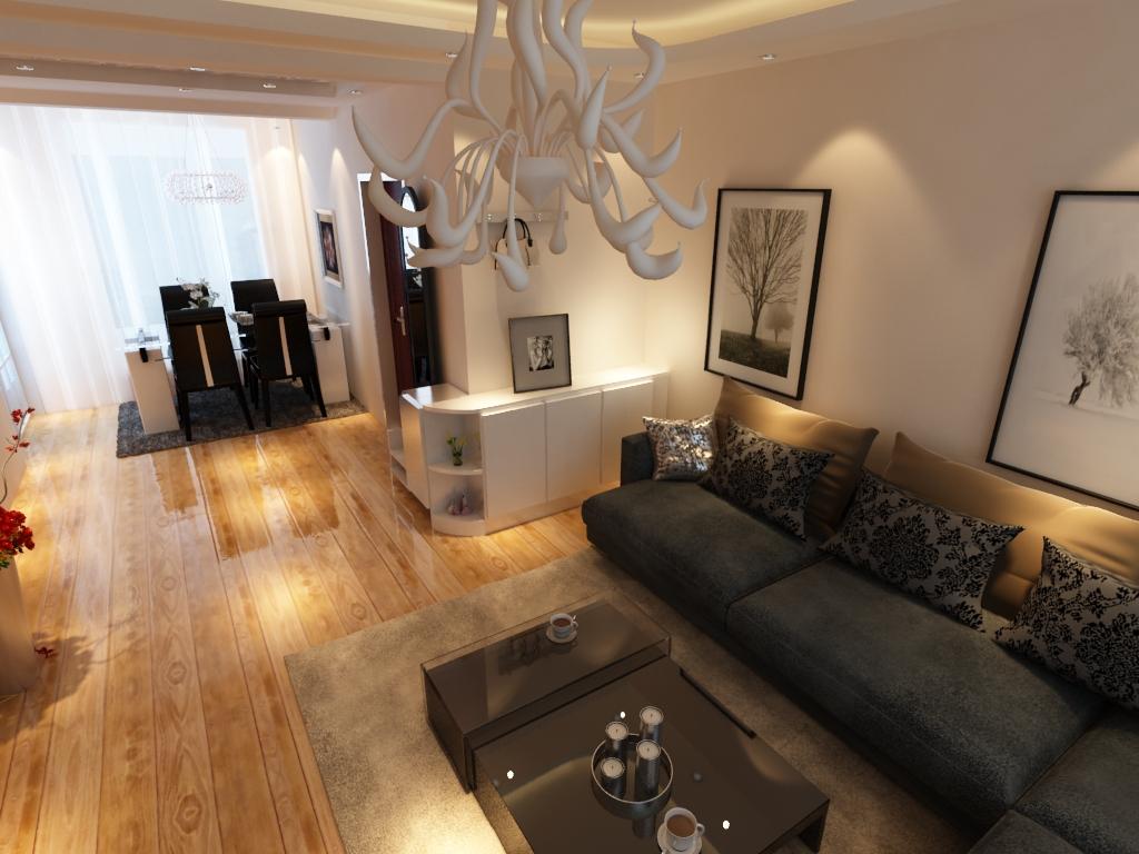 客厅图片来自沈阳新饰家装饰在沈阳中旅国际的分享