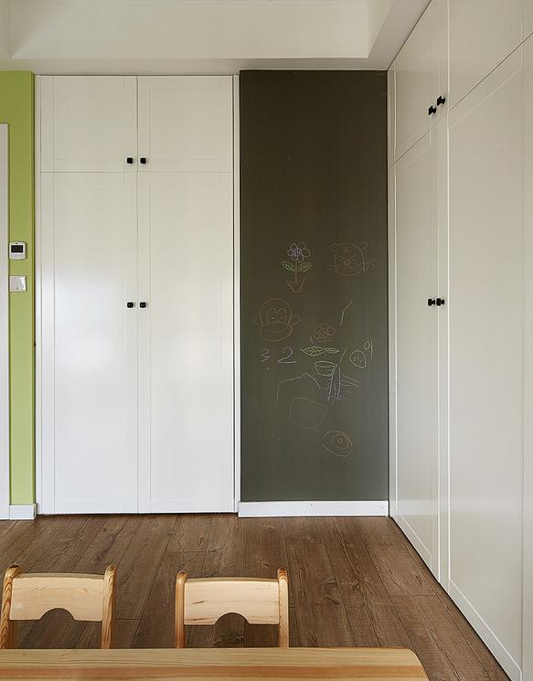 现代 北欧 儿童房图片来自佰辰生活装饰在历时半年打造现代偏北欧风格的家的分享