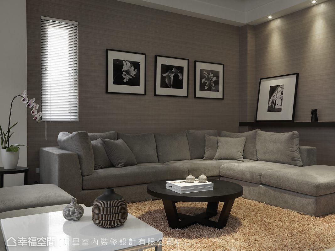 幸福空间 高端设计 台湾设计师 现代风格 客厅图片来自幸福空间在297平拥有贴近生活的奢华感受的分享