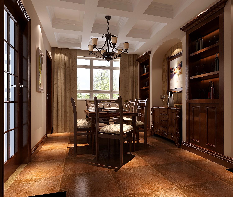 托斯卡纳 三居 白领 餐厅图片来自沙漠雪雨在鲁能七号院  托斯卡纳的分享