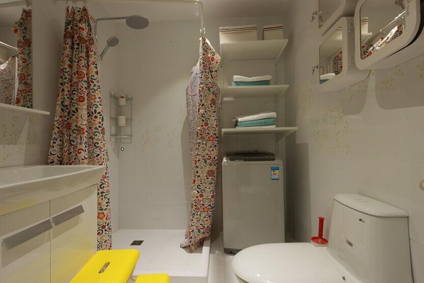 宜家 宜家风格 实创装饰 两居室 80后 小资 卫生间图片来自北京实创装饰在实景样板间宜家风格2居室装修的分享