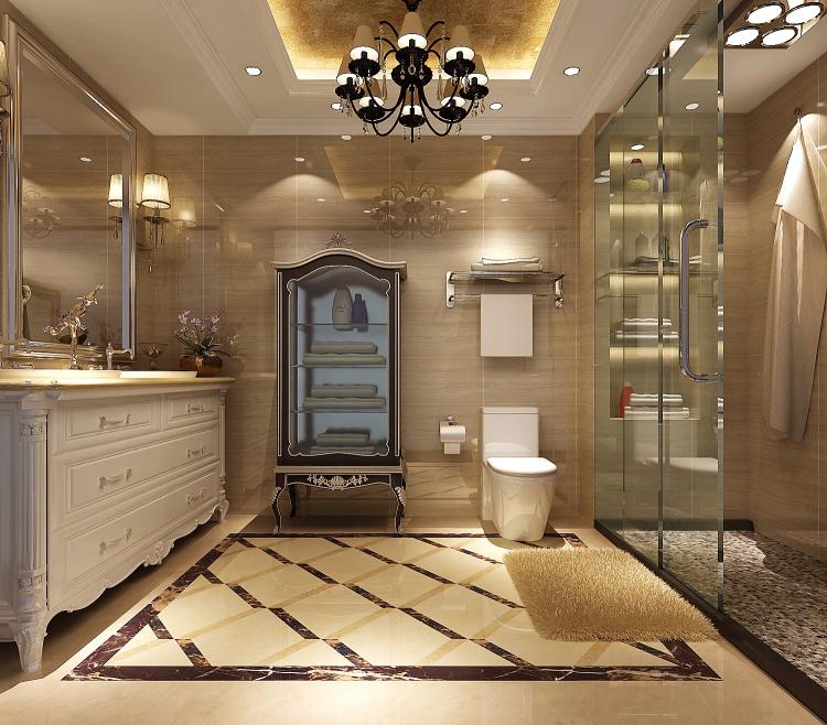 欧式 小资 卫生间图片来自高度国际宋书培在绿城百合公寓四居室装饰效果图的分享