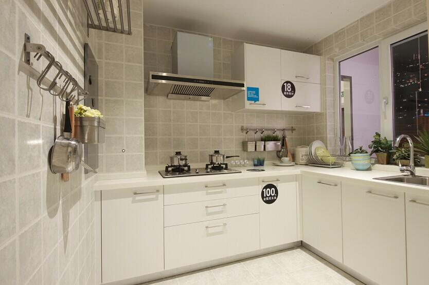 宜家 宜家风格 实创装饰 两居室 80后 小资 厨房图片来自北京实创装饰在实景样板间宜家风格2居室装修的分享