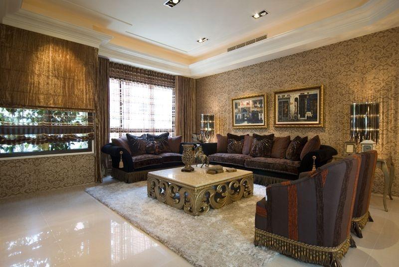 四居 现代混搭 阿拉奇设计 家庭装修 客厅图片来自阿拉奇设计在摩纳哥风格大户型家庭装修的分享