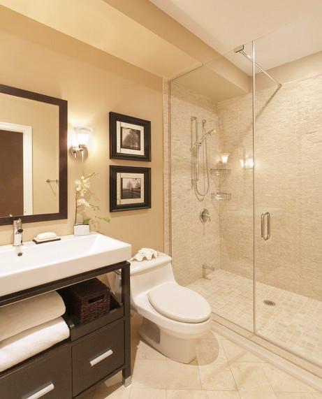 简约 混搭 卫生间图片来自今朝装饰李海丹在馨瑞家园两居的分享