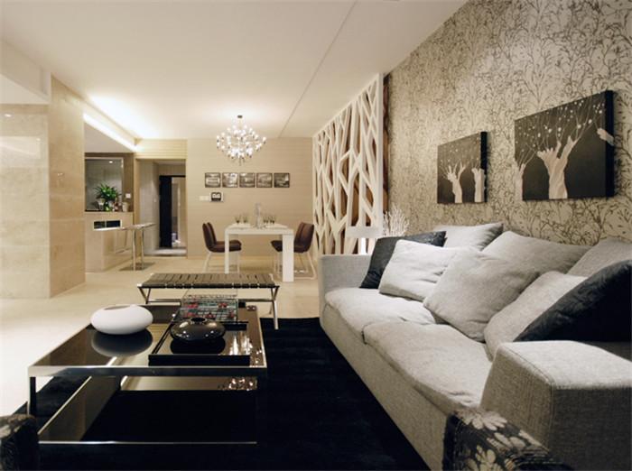 简约 客厅图片来自今朝装饰李海丹在筑华年的分享