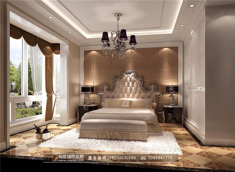 简约 欧式 三居 别墅 80后 小资 卧室图片来自高度国际家居别墅装饰在欧式风格的分享