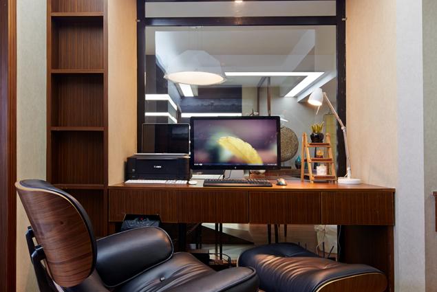 三居 现代风格图片来自长沙苹果装饰旗舰店在金色比华利的分享