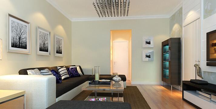 简约 二居 白领 收纳 80后 小资 客厅图片来自实创装饰百灵在老房翻新80平米阜光里2居案例的分享