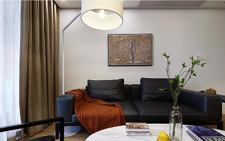 客厅图片来自佰辰生活装饰在历时半年打造现代偏北欧风格的家的分享