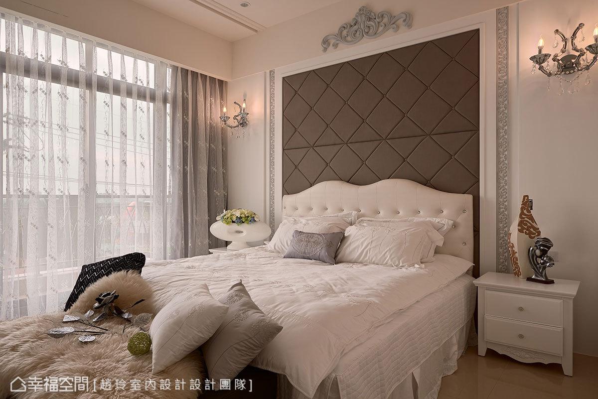 幸福空间 高端设计 台湾设计师 新古典 卧室图片来自幸福空间在280平时尚美型 新古典的多元混搭的分享