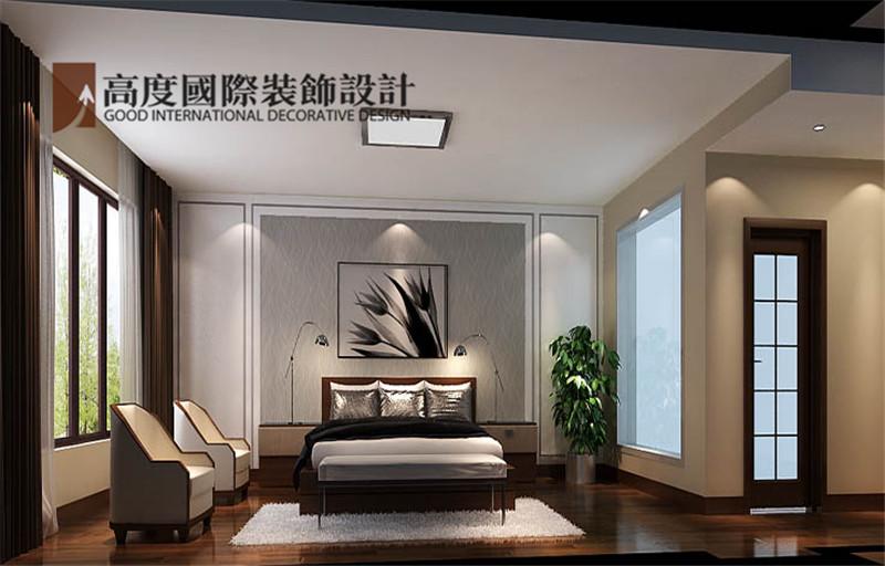 简约 装修 设计 案例 效果图 卧室图片来自高度老杨在西山壹号院 200平米 简约的分享