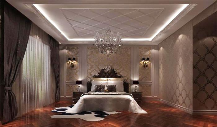 欧式 小资 卧室图片来自高度国际宋书培在华侨城四居室装饰效果图的分享