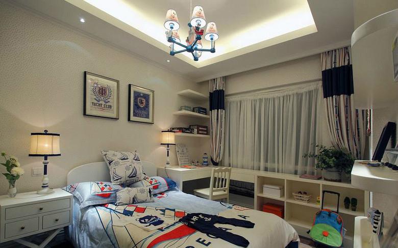卧室图片来自今朝装饰小闫在地中海 幸福世家的分享