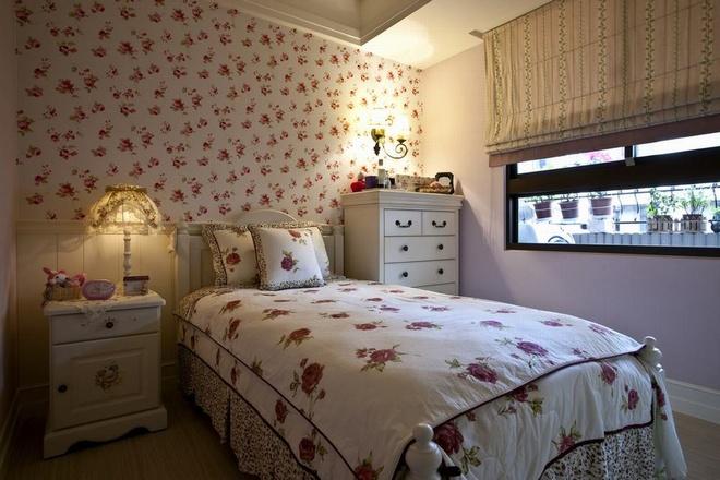 田园 二居 白领 收纳 旧房改造 80后 小资 卧室图片来自名仕装饰-小飞在田园乡村的分享