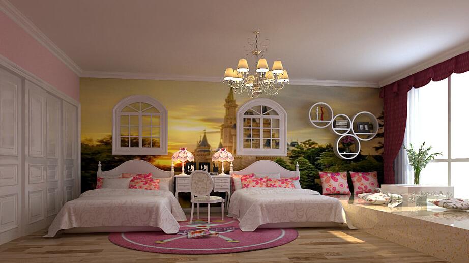 简约 欧式 三居 白领 收纳 80后 小资 儿童房图片来自实创装饰百灵在欧式风格180平米风格与林的分享