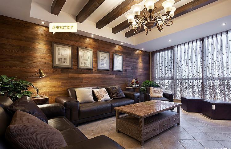客厅图片来自佰辰生活装饰在250平美式复古大跃层的分享