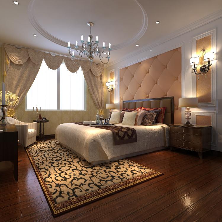 欧式 小资 卧室图片来自高度国际宋书培在绿城百合公寓四居室装饰效果图的分享