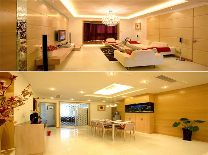 简约 中式 客厅图片来自今朝装饰李海丹在珠江国际-中式简欧混搭的分享
