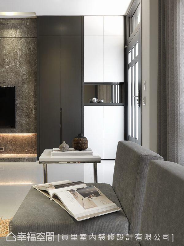 幸福空间 高端设计 台湾设计师 现代风格 玄关图片来自幸福空间在297平拥有贴近生活的奢华感受的分享
