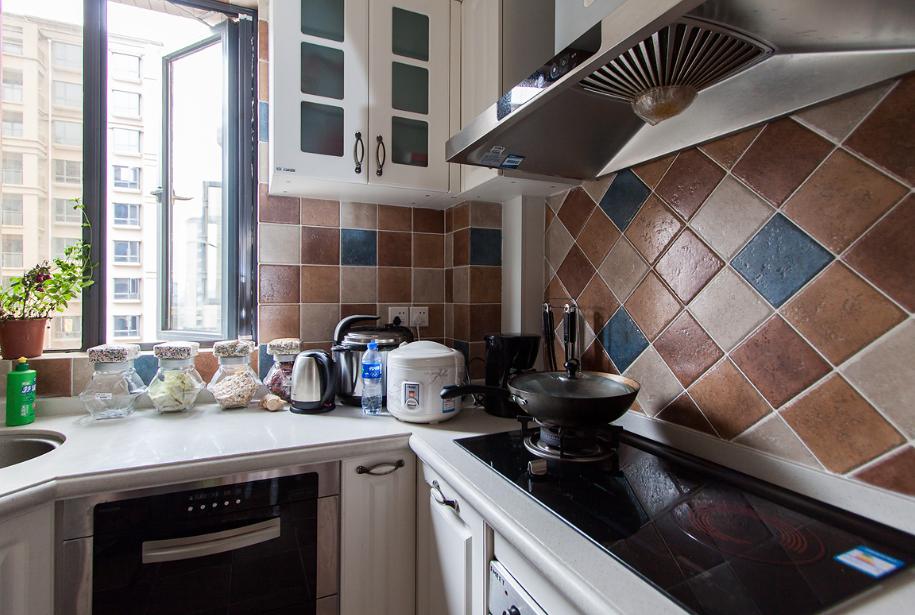 厨房图片来自唯美装饰在保利时代91平田园风格的分享