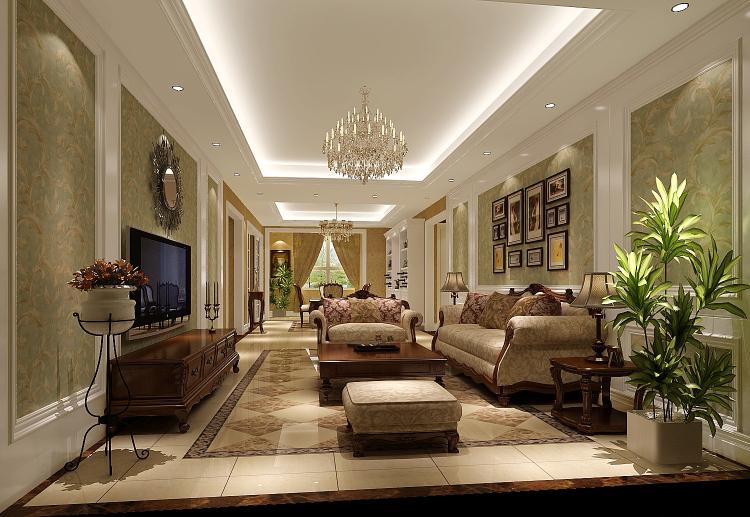 欧式 三居 80后 客厅图片来自高度国际宋书培在龙湖香醍溪岸三居室装饰效果图的分享