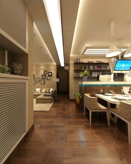 潮流 混搭 前卫 餐厅图片来自百合居装饰工程有限公司在潮流混搭的分享