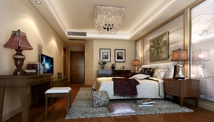 简约 港式 现代 复地雍湖湾 卧室图片来自成都业之峰装饰公司在复地雍湖湾新港式的分享