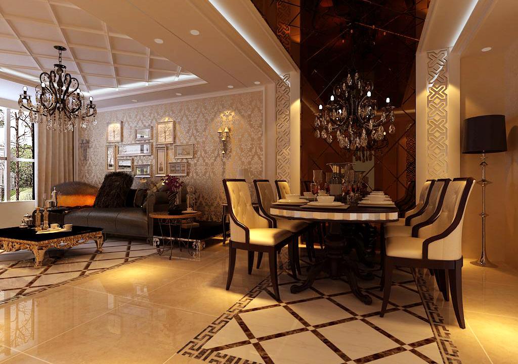 三居 餐厅图片来自百家装饰小王在金地铂悦118平的分享