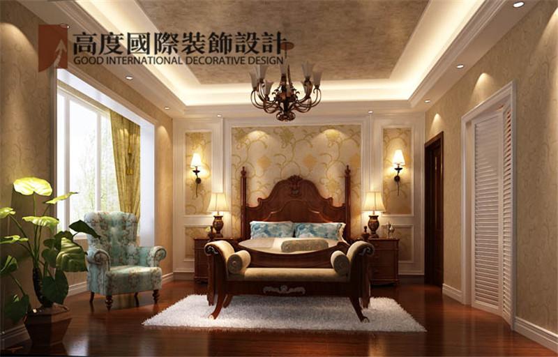 装饰 设计 案例 效果图 卧室图片来自高度老杨在中景江山赋 200平米 美式的分享
