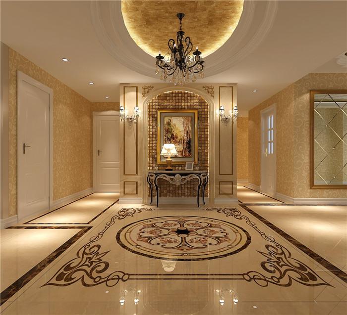 欧式 小资 玄关图片来自高度国际宋书培在华侨城四居室装饰效果图的分享