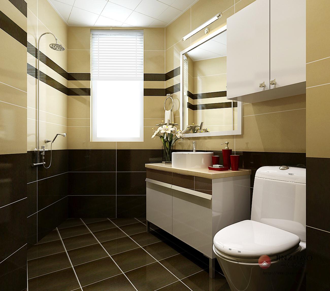 简约 卫生间图片来自今朝装饰李海丹在兆丰园的分享