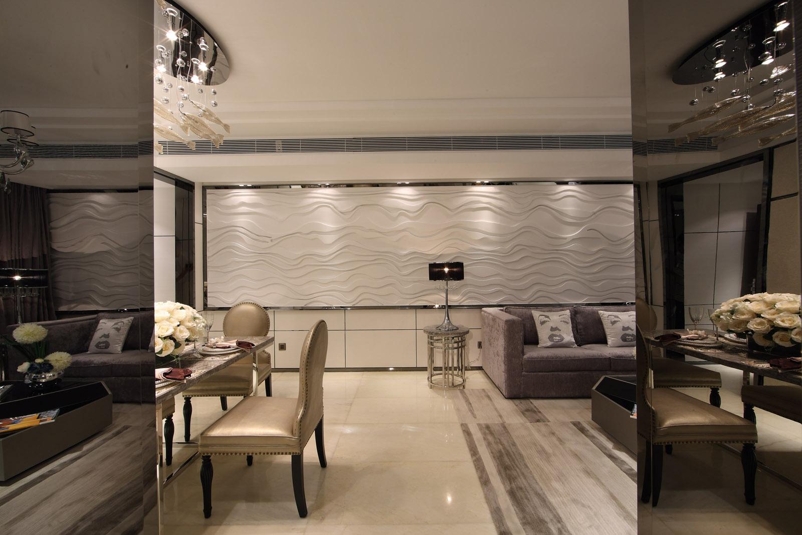 餐厅图片来自唯美装饰在广电江湾130平现代简约风格的分享