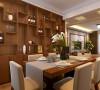 郑州高新区轻工业家属院3室2厅130平方装修方案,餐厅中式风格装修效果图