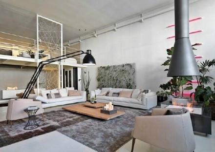 现代 美式 公寓 客厅图片来自百合居装饰工程有限公司在青年公寓--年轻人的天堂的分享