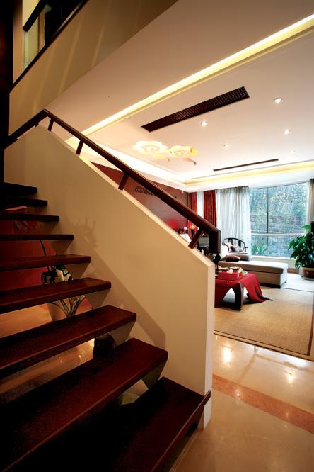 简约 欧式 田园 混搭 二居 三居 别墅 白领 楼梯图片来自元洲装饰木子在远洋奥北的分享